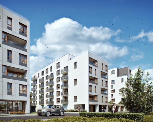 Nowe osiedle Warszawa - Holm House