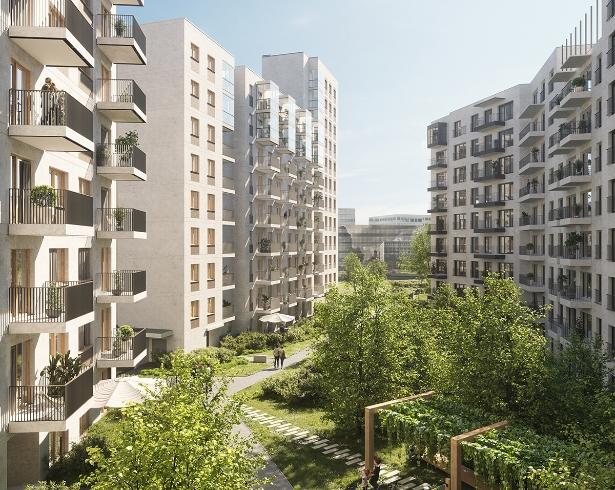 Unikatowe osiedle w Warszawie - Holm House