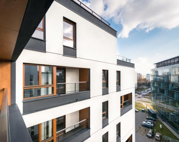 Osiedle z nowoczesnymi rozwiązaniami Warszawa - Holm House
