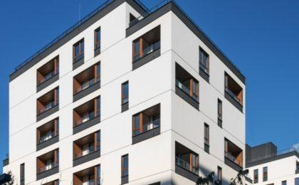 Kilkuetapowe osiedle Warszawa - Holm House