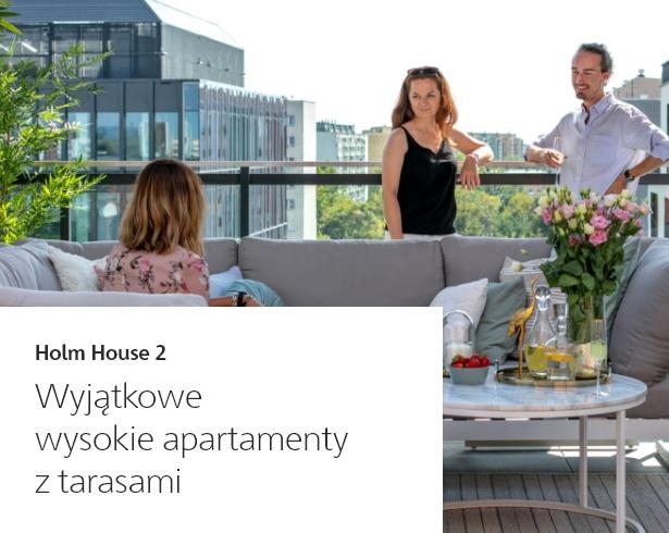 Wyjątkowe wysokie apartamenty z tarasami - Oferty specjalne Skanska