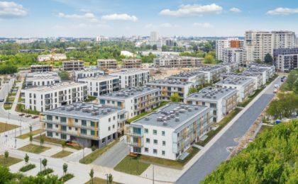Starannie wykonane osiedle w Warszawie - Jaśminowy Mokotów