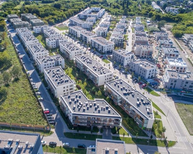 Przemyślanie zaprojektowane osiedle Warszawa - Jaśminowy Mokotów